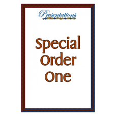 Special Order One