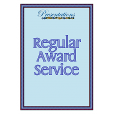 Regular Award Certificate